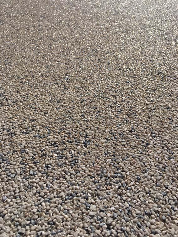 Quick Application Natural Quartz Flooring